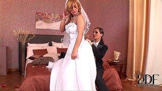سکس عروس و داماد در شب عروسی HD ویدیوی   HDJerk.com
